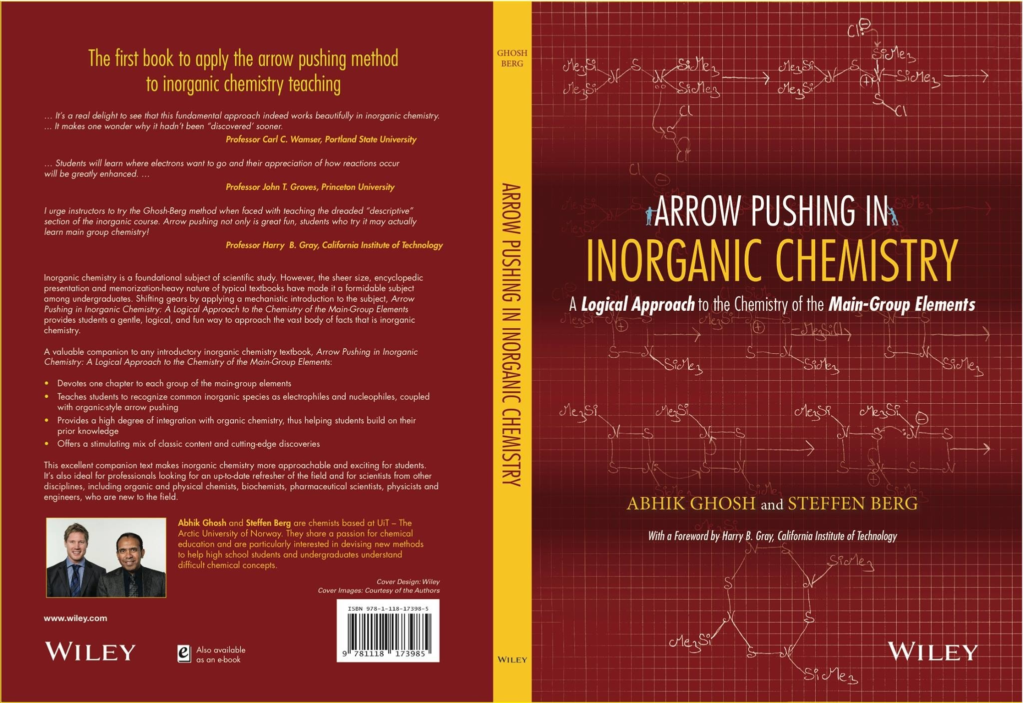 arrow pushing in inorganic chemistry viper front and back cover of the book arrow pushing in inorganic chemistry